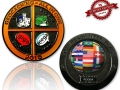 All In One Geocoin 2015 Black Nickel XLE 75