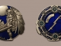 Cache Angel V2 - The Seeker - Antique Silver - blue