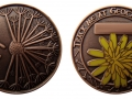 Dandelion - Full Moon - Antique Copper