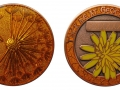 Dandelion - Indian Summer - Antique Copper - orange