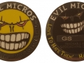Evil Micro 2015 Geocoin - Nickel