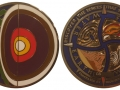 Four Elements Geocoin - Gold