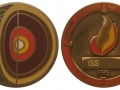 Four Elements Micro - Fire Geocoin