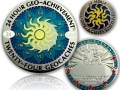 Geo-Achievement 24 Hours 24 Caches Geocoin